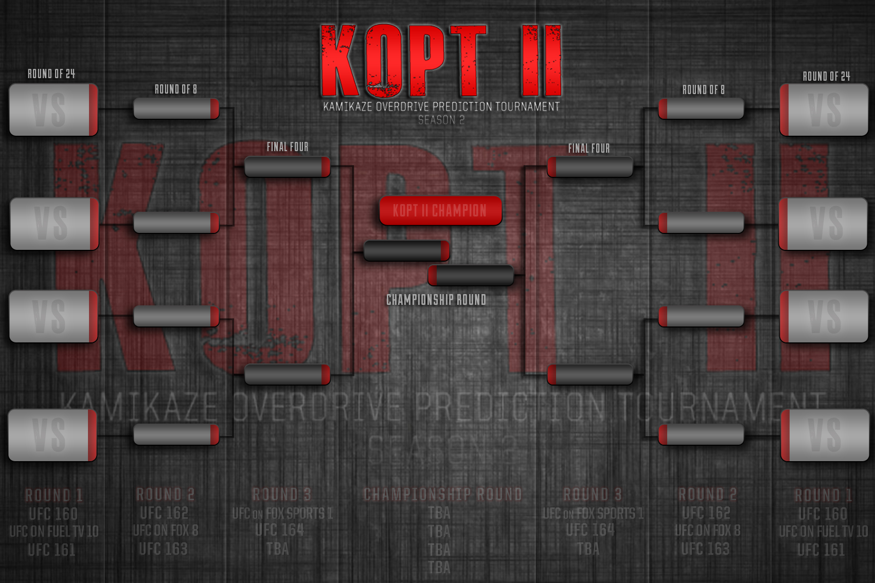 KOPT II Bracket