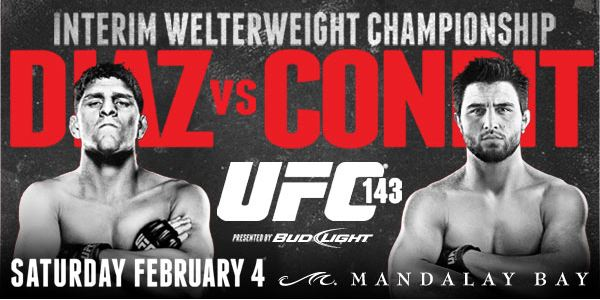 UFC 143- Results