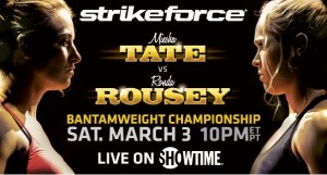 Strikeforce: Tate vs Rousey- Results