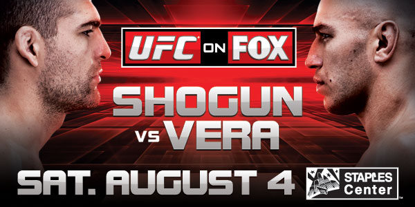 UFC on Fox 4- Post Fight Results
