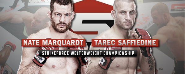 STRIKEFORCE: Marquardt vs Saffiedine Predictions