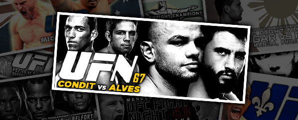 UFN 67: Condit vs Alves- 'Brazil or Bust'