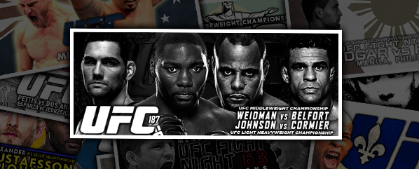 UFC 187: Johnson vs Cormier- 'A New Chapter'