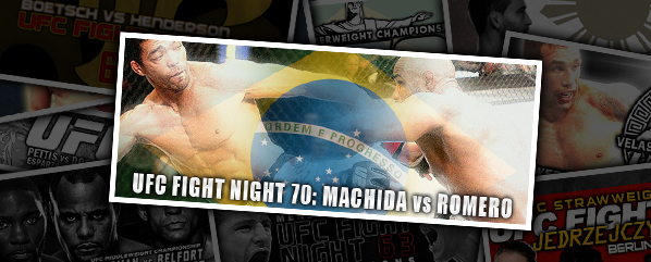 UFN 70: Machida vs Romero – 'The Dragon Falls''