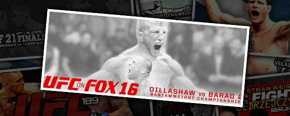UFC on FOX 16: Dillashaw vs Barao 2- 'Without a Doubt'