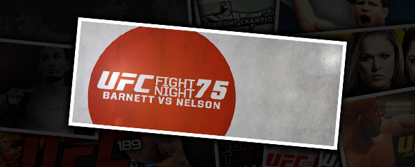 UFN 75: BARNETT VS NELSON- 'THAT JUST HAPPENED!'