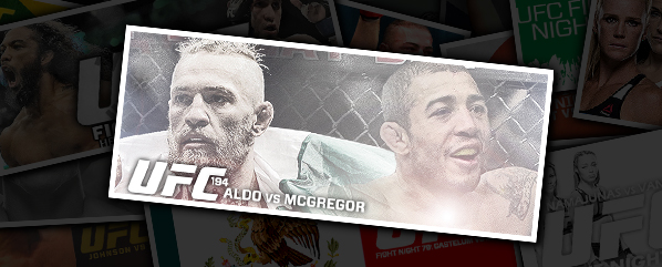 UFC 194: ALDO VS MCGREGOR- 'MY HATEFUL 8'