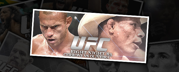 UFN 83: CERRONE VS OLIVEIRA- 'IF YOU WANT TO GET HURT, I KNOW A GUY'