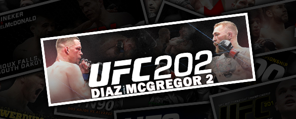 UFC 202: DIAZ VS MCGREGOR 2- 'ONE MORE TIME?'