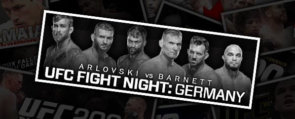 UFC FIGHT NIGHT 93: ARLOVSKI VS BARNETT- 'THE TAMING OF THE PITBULL'