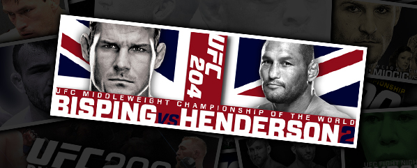 "UFC 204: BISPING VS HENDERSON 2- ""THE COUNT IS DOWN, BUT NOT OUT"""