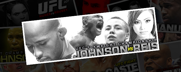 "UFC ON FOX 24: JOHNSON VS REIS- ""AND STILL…""<br />"