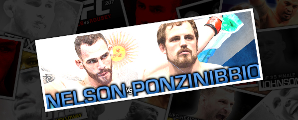 "UFC FIGHT NIGHT 113: NELSON VS PONZINIBBIO- ""GREAT SCOTT! WHAT A KNOCKOUT!"""