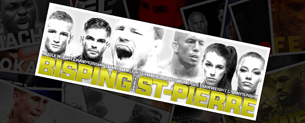 UFC 217: BISPING VS ST-PIERRE- BET PACK REVIEW