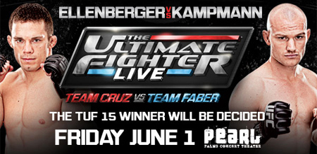 TUF 15 Finale- Results