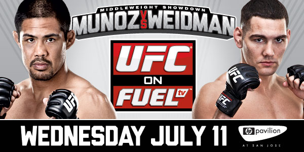 UFC on Fuel TV 4: Munoz vs Weidman- Results