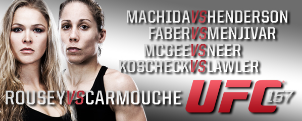 UFC 157: Rousey vs Carmouch