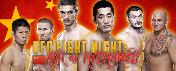 UFC Fight Night China Predictions