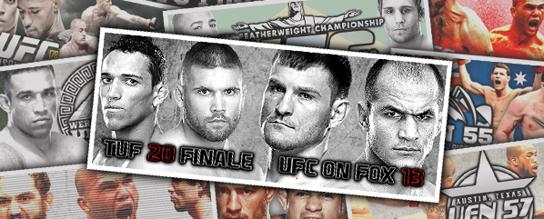 TUF 20 & UFC on FOX 13- Retrospective & Bet Pack Review