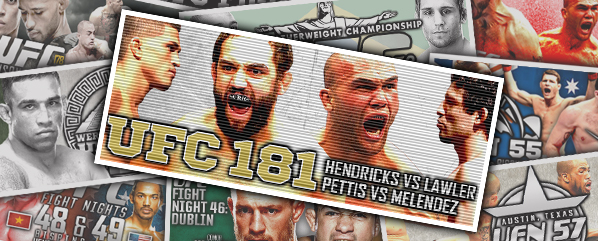 UFC 181: Hendricks vs Lawler 2- Retrospective & Bet Pack Review