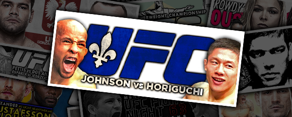 UFC 186: JOHNSON VS HORIGUCHI- 'NOT THE BIGGEST DOG IN THE FIGHT'