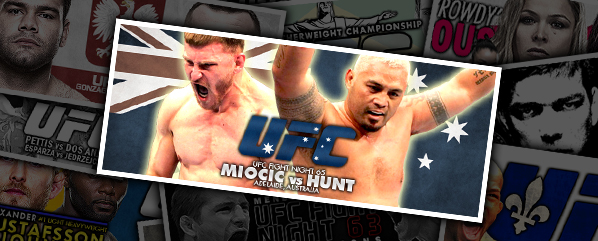 UFN 65: Miocic vs Hunt-