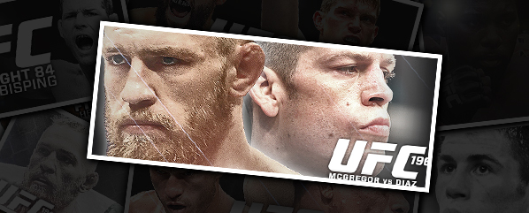 UFC 196: MCGREGOR VS DIAZ- 'REAR-NAKED CHOKED'