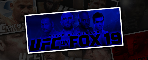 UFC ON FOX 19: TEIXEIRA VS EVANS- 'LET'S DANCE'