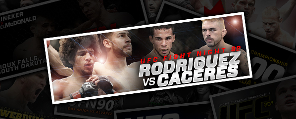 UFN 92: RODRIGUEZ VS CACERES- 'THE NEXT ONE'
