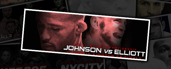 "TUF 24 FINALE: JOHNSON VS ELLIOTT- ""MIDNIGHT STRUCK, GLASS SLIPPER CRUSHED"""