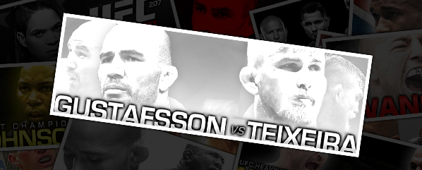 "UFN 109: GUSTAFSSON VS TEIXEIRA- ""SWEDISH THROWDOWN"""