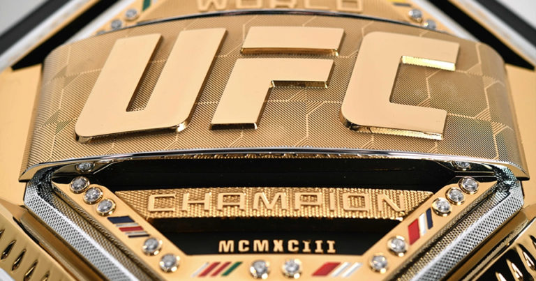"UFC Unveils new ""Legacy"" Championship Belts for 2019"