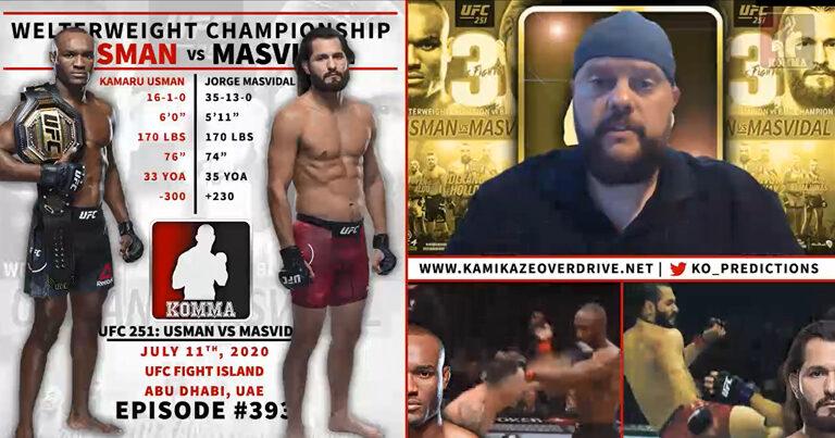 UFC 251: Usman vs Masvidal Predictions | Episode #393